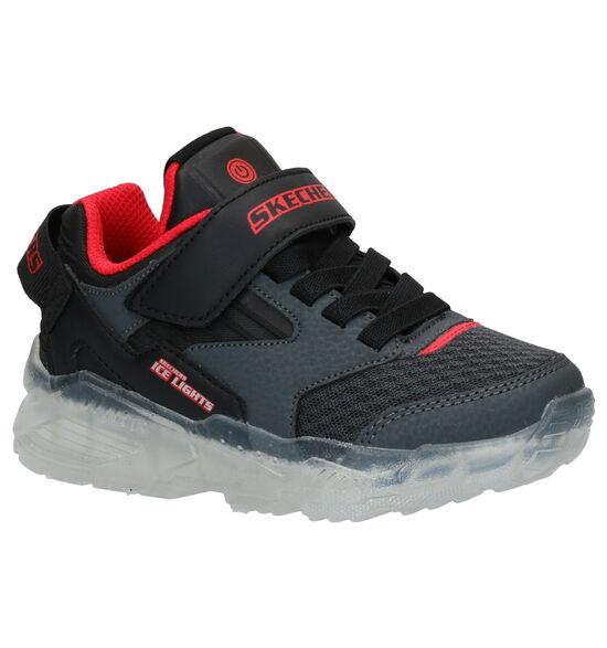 Skechers Ice Lights Zwarte Sneakers