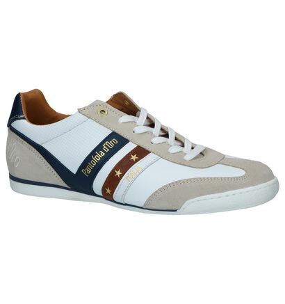 Pantofola d'Oro Vasto Uomo Low Witte Casual Veterschoenen, Wit, pdp