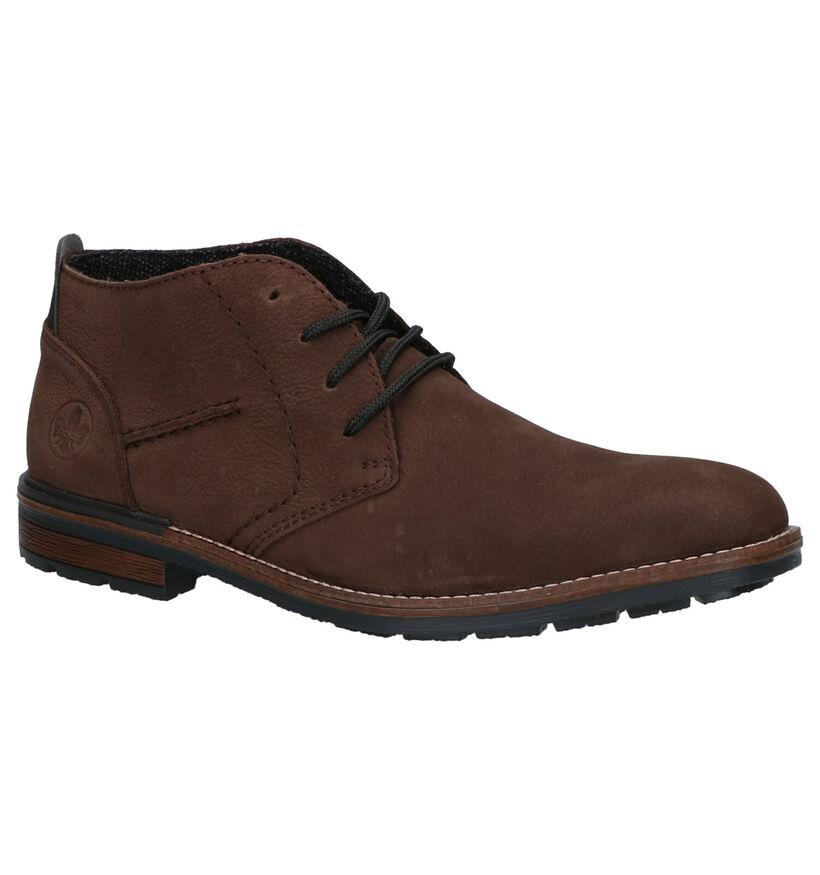 Rieker Chaussures hautes en Brun foncé en nubuck (262161)