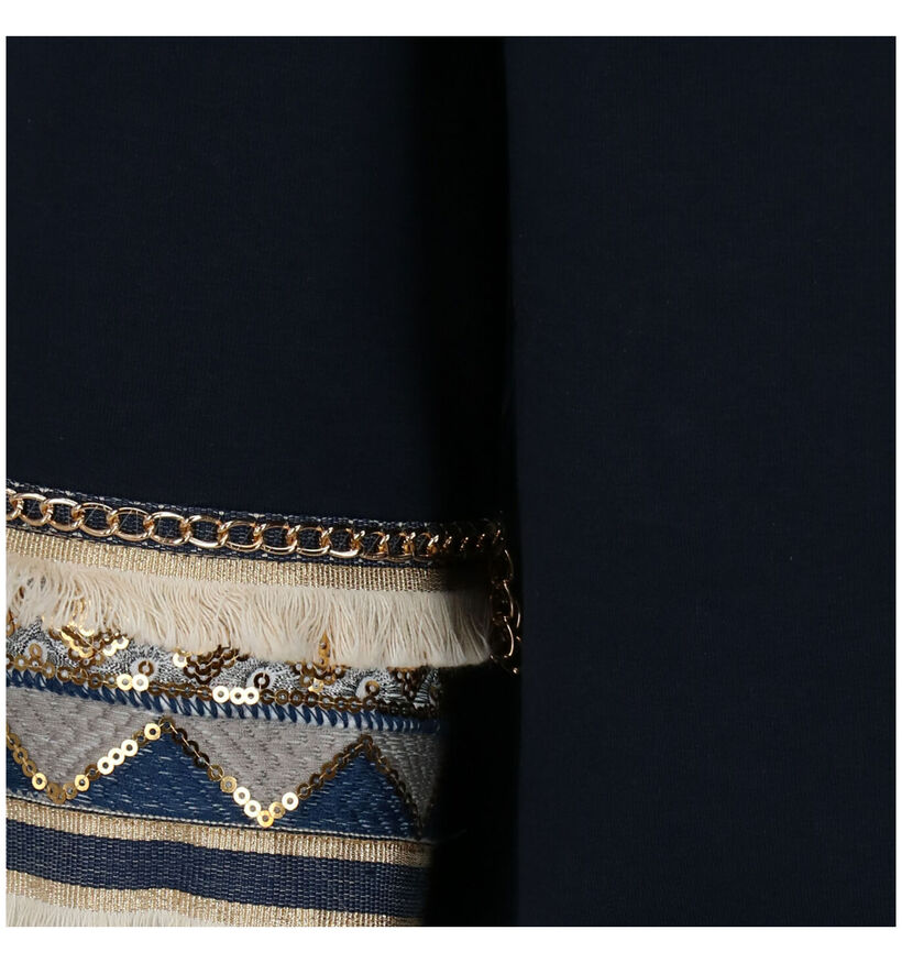 Maison Espin Pull en Bleu (277944)