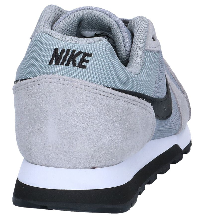 Nike MD Runner Blauwe Sneakers in stof (266539)