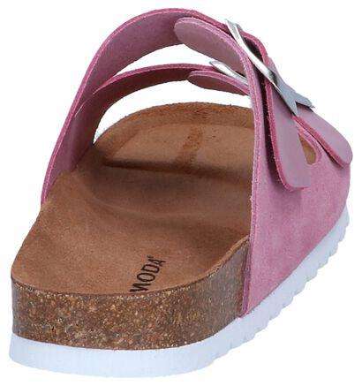 Pastelgele Slippers Vero Moda Carla, Roze, pdp