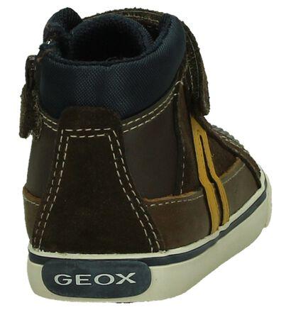 Bruine Hoge Schoenen Geox, Bruin, pdp