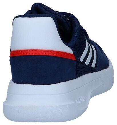 adidas Fusion Flow Baskets en Bleu en cuir (237102)
