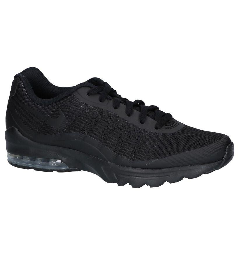 Nike Air Max Baskets basses en Noir en textile (250295)