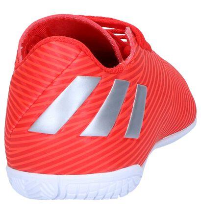 Rode Zaalvoetbalschoenen adidas Nemiziz, Rood, pdp