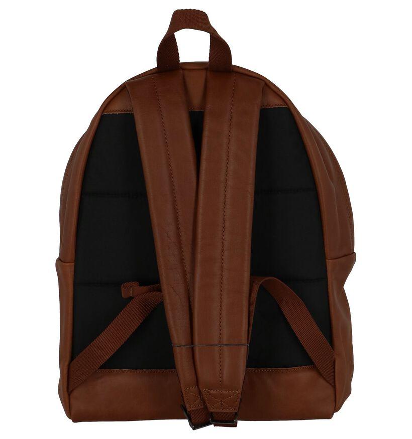 Eastpak Padded Sacs à dos en Cognac en cuir (238149)