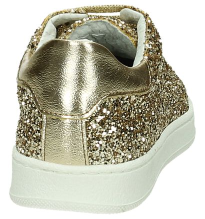 Ghost Rockers Baskets basses en Or en simili cuir (189960)