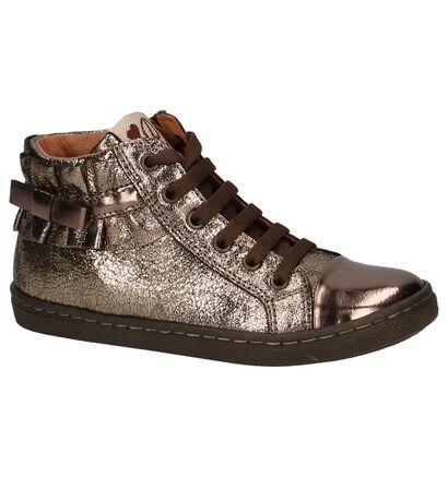 Romagnoli Bronzen Hoge Schoenen in leer (204009)