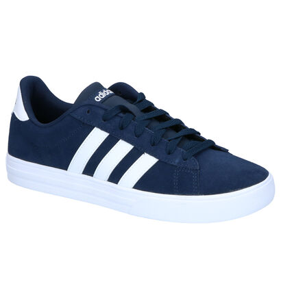 adidas Daily 2.0 Zwarte Sneakers in daim (252481)
