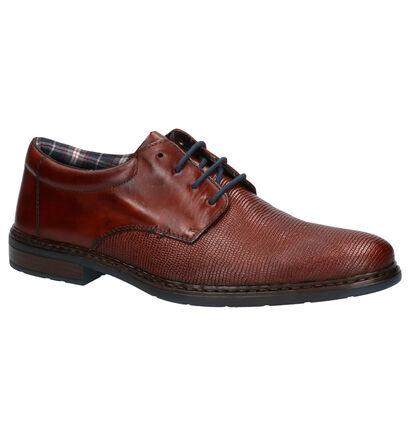 Rieker Chaussures habillées en Cognac en cuir (262155)