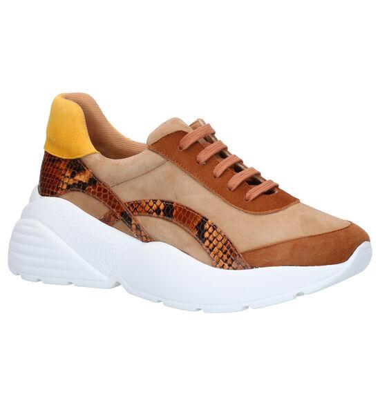 March23 Vivian Cognac Sneakers