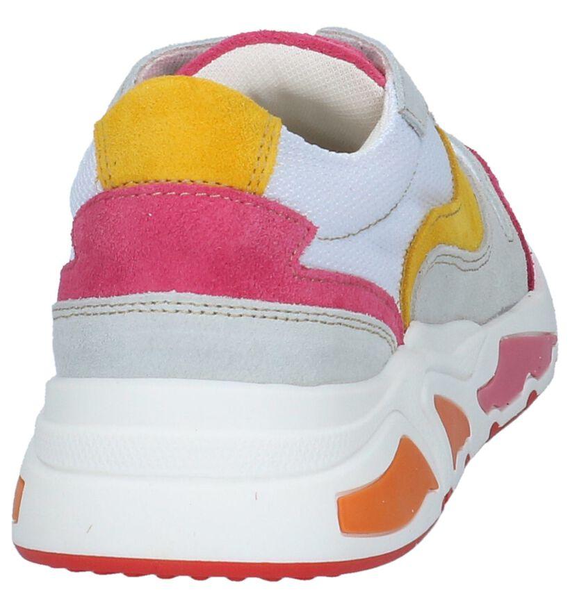Poelman Baskets basses en Multicolore en textile (233588)