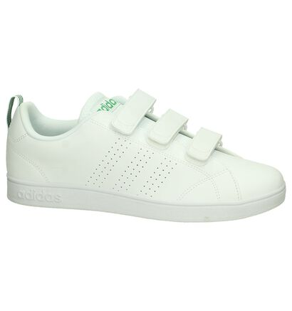 Witte adidas Advantage Clean Sneakers, Wit, pdp