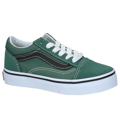 Vans Old Skool Skate sneakers en Gris en textile (210256)