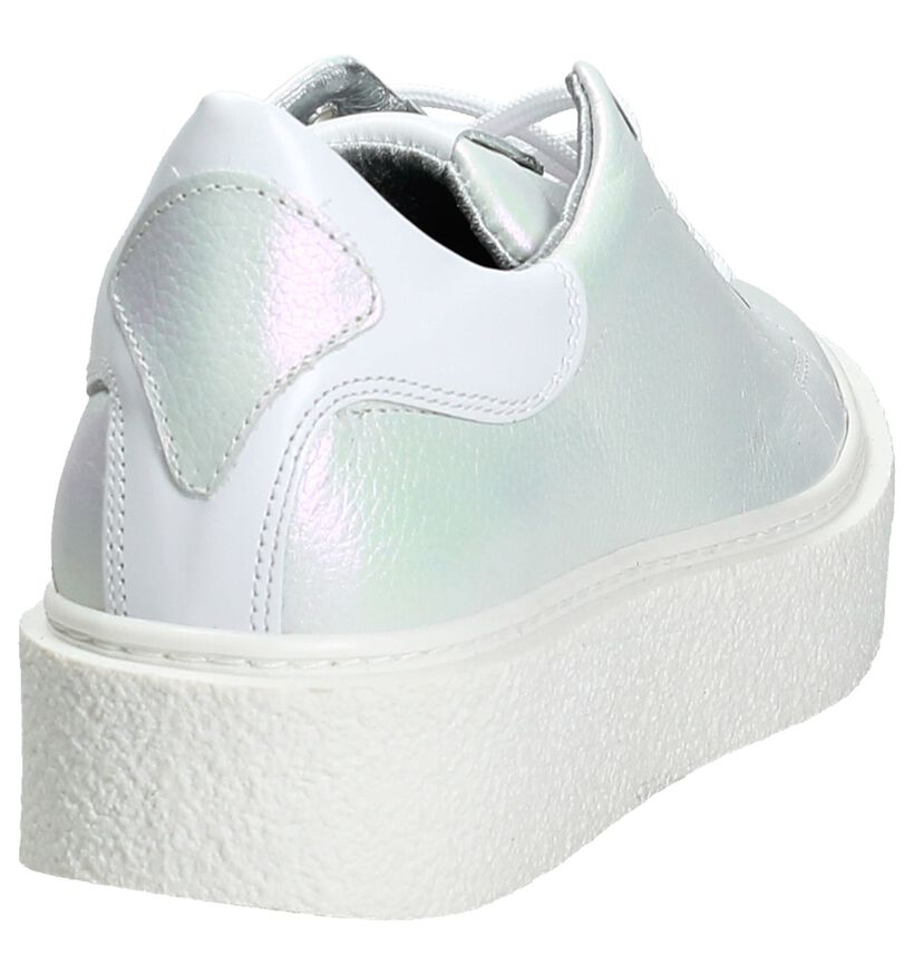 Hip Parlemoer Sneakers Gekleed in leer (196420)