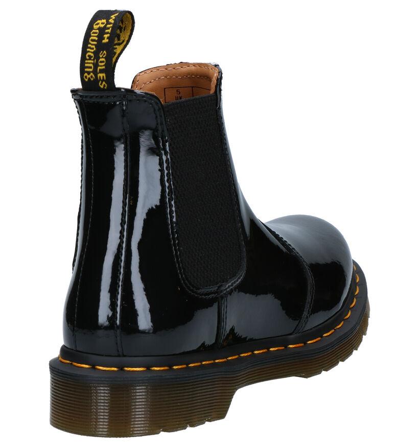 Dr. Martens 2976 Zwarte Chelsea Boots in lakleer (253418)