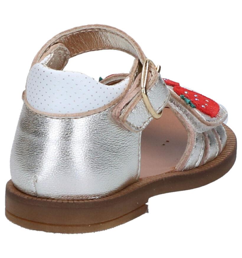 Romagnoli Sandales pour bébé en Or en cuir (269589)