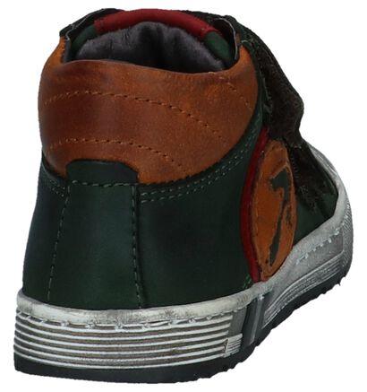 Boots met Velcro Donkergroen Hampton Bays in leer (224119)