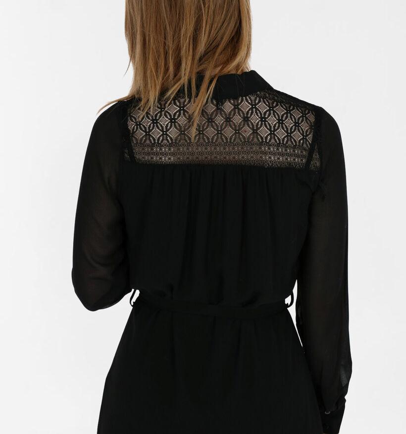 Tramontana Robe Chemise en Noir (282027)
