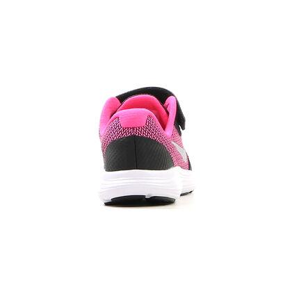 Zwarte Runners Nike Revolution 3 PSV, Zwart, pdp