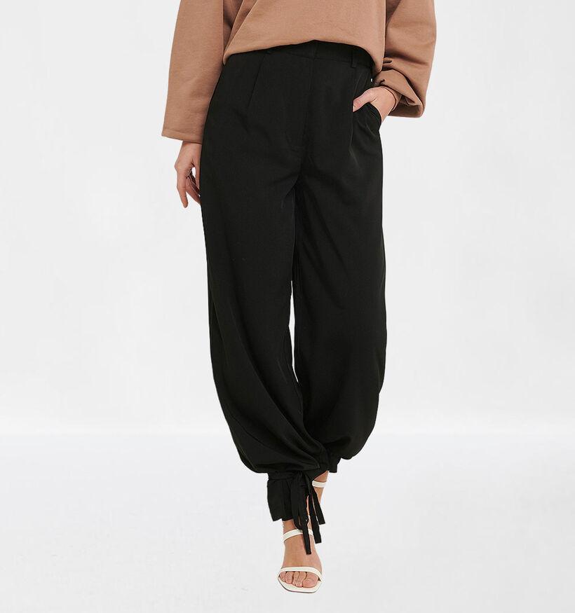 NA-KD Pantalon Large en Noir (284009)