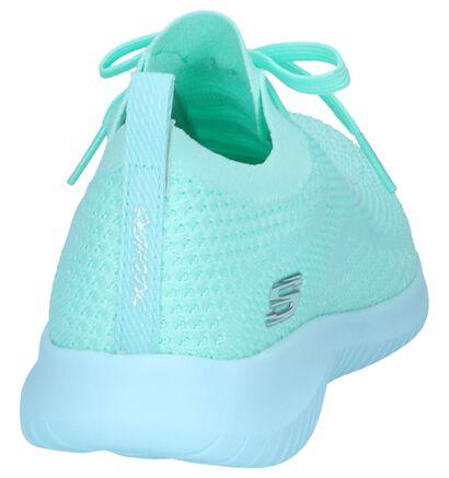 Lichtgroene Slip-on Sneakers Skechers Ultra Flex , Groen, pdp