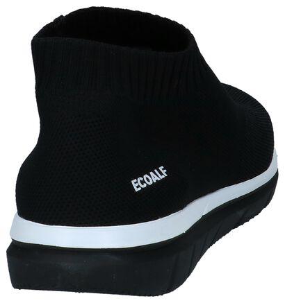 Ecoalf Shao Instapper Zwart in stof (232436)