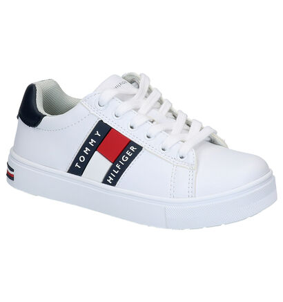 Tommy Hilfiger Baskets basses en Blanc en simili cuir (266595)