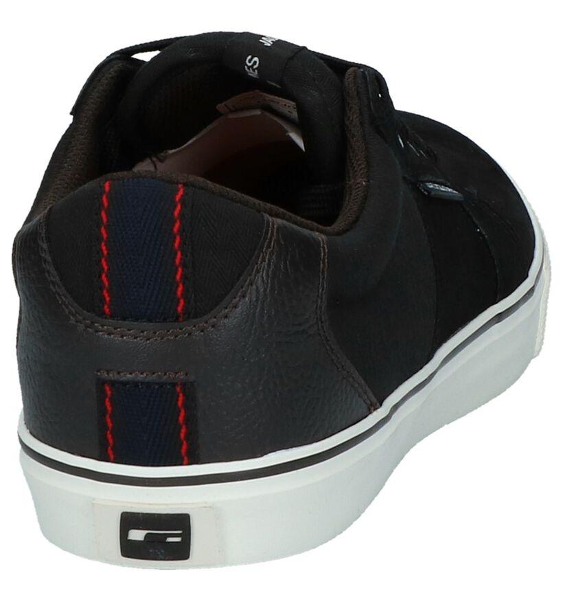 Zwarte Sneakers Jack & Jones Banda in stof (226242)