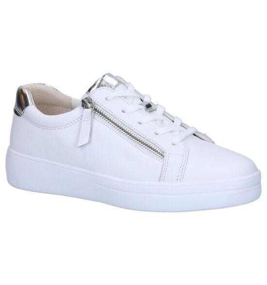 Gabor Comfort Chaussures à lacets en Blanc