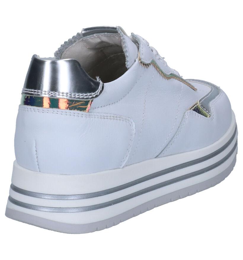 NeroGiardini Baskets basses en Blanc en cuir (271856)