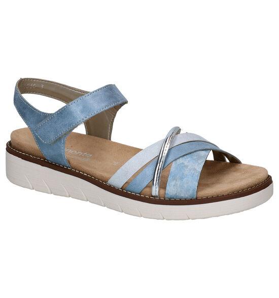 Remonte Blauwe Sandalen