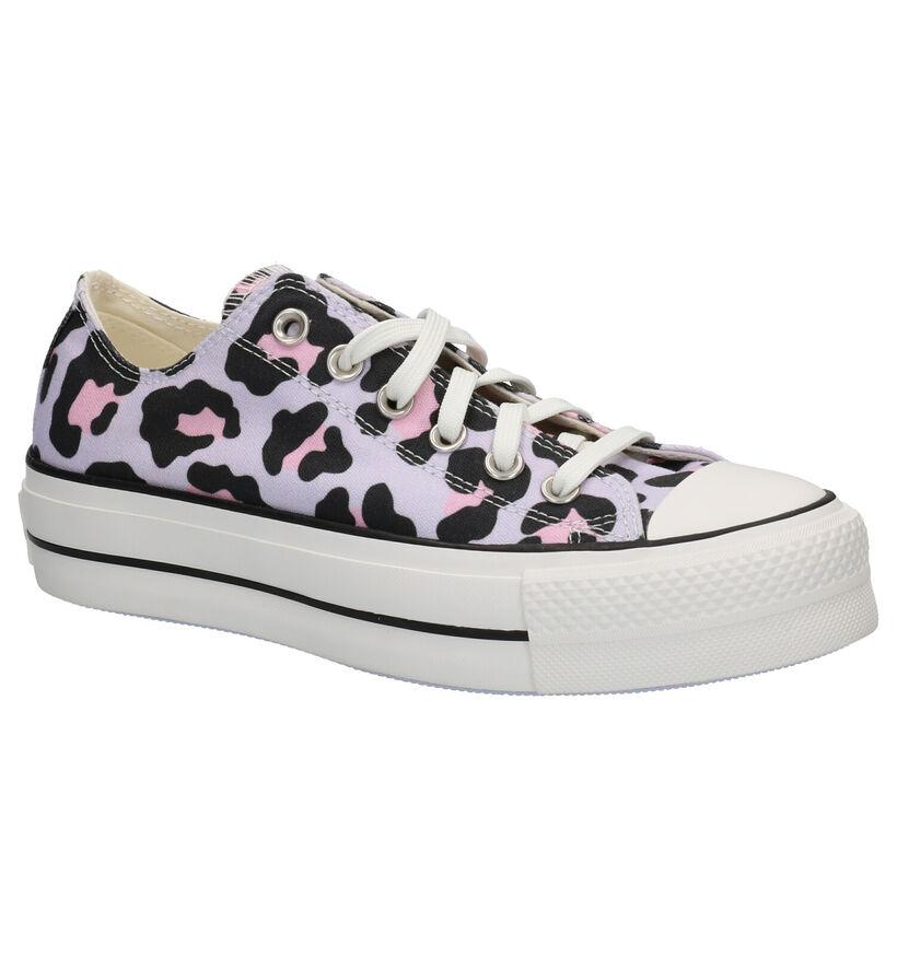Converse Chuck Taylor AS Lift Sneakers en Lila en textile (266497)