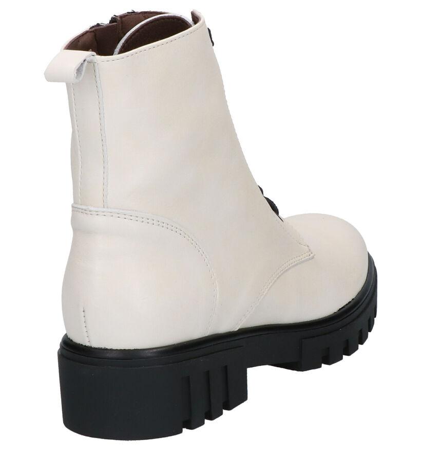Patricia Miller Ecru Boots in leer (261130)
