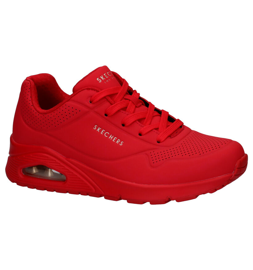 Skechers Uno Stand On Air Baskets en Rouge en synthétique (279351)