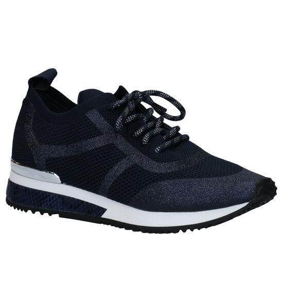La Strada Chaussures à lacets en Bleu foncé