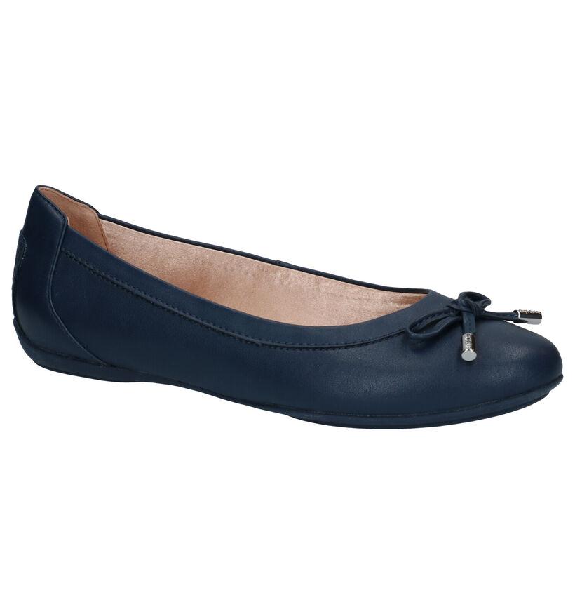 Geox Charlene Ballerines en Bleu en simili cuir (285654)