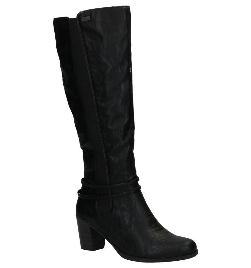 Rieker Bottes hautes en Noir en simili cuir (282710)
