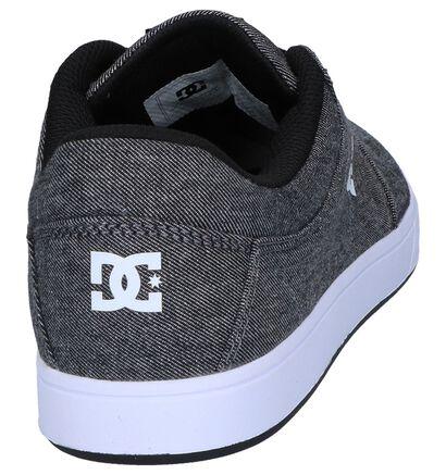 DC Shoes Baskets basses en Gris en textile (250823)