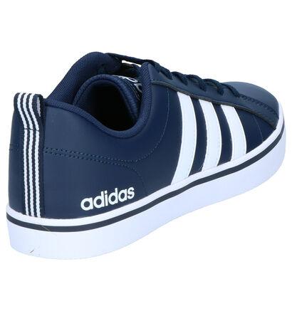 adidas VS Pace Zwarte Sneakers in kunstleer (264768)