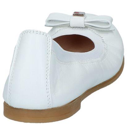 Tommy Hilfiger Ballerines en Blanc en cuir (215855)