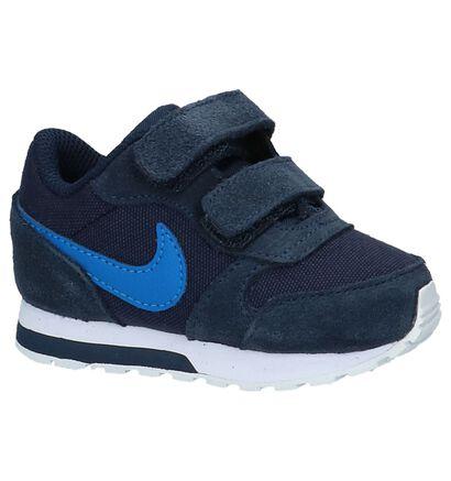Blauwe Babysneakers Nike MD Runner, Blauw, pdp