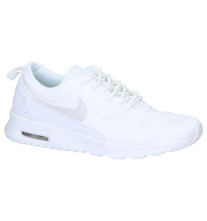 Witte Sneakers Nike Air Max Thea in kunstleer (250246)