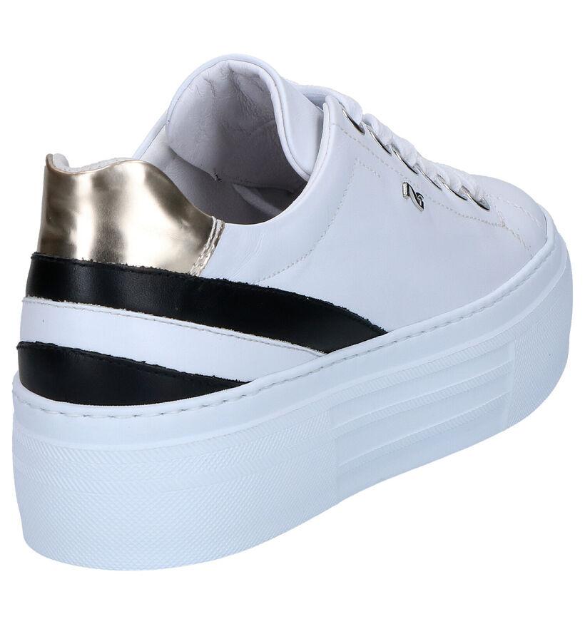 NeroGiardini Chaussures à lacets en Blanc en cuir (273086)