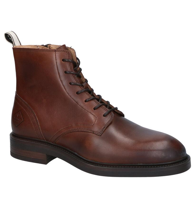 Gant Martin Cognac Boots in leer (261320)