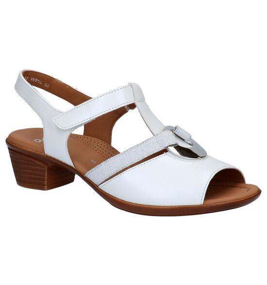 Ara Lugano Witte Sandalen