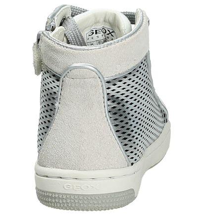Geox Chaussures à fermeture à glissière et lacets  (Gris foncé), Argent, pdp
