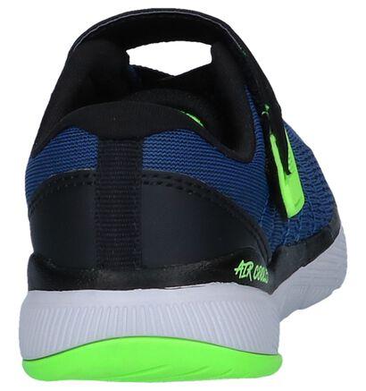 Blauwe Runner Sneaker Skechers Flex Advantage in imitatieleer (250728)