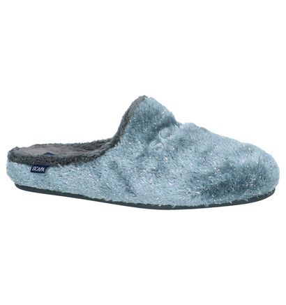 Scapa Pantoufles ouvertes en Gris en textile (227373)